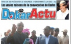 Dakaractu Bi hebdo : Voici la une du Jeudi 18 Décembre 2014