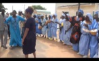 Les pas de danse de Michaëlle Jean, secrétaire générale de l'OIF, qui a succombé au rythme du tam-tam