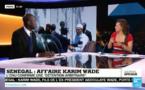 Débat France24 sur la plainte de Karim Wade au Tribunal de Grande Instance de Paris