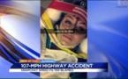 """Une ado provoque un crash à 170 km/h pour un selfie : """"La faute à Snapchat"""""""