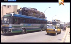 Dix bus à destination de Ziguinchor arrêtés à la Patte d'Oie (Vidéo)