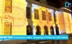 Dak'art 2016 : Une projection vidéo mapping illumine l'hôtel de ville de Dakar