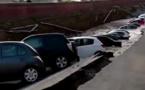 Un quai s'effondre près du Ponte Vecchio à Florence en Italie (vidéo)
