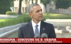 """Discours historique d'Obama à Hiroshima : """"il faut favoriser un monde sans arme nucléaire"""""""