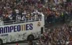 Ligue des Champions : Parade triomphale du Real Madrid