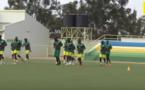 L'équipe nationale du Sénégal s'est entraînée cet après-midi au Kigali Stadium