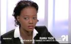 Rama Yade interview tv politique. liberté de la presse, droit de l'homme.