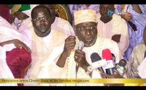 MAGAL 2016 : Rencontre entre Serigne Bass Abdou Khadre et les familles religieuses