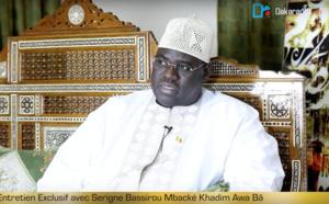 """Serigne Bassirou Mbacké Khadim Awa Ba sur la célébration du Magal : """"Pourquoi Serigne Touba était parti en exil et ce qu'il y a vécu (...) Qui était Cheikh Mouhamadou Lamine Bara (...)  Ce que Macky Sall a fait pour Touba"""""""