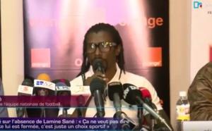 Can 2017 : Aliou Cissé s'explique sur la non séléction de Lamine Sané et Younouss Sankharé