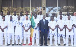 Les images de la Cérémonie officielle de remise du drapeau national- CAN 2017