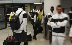 Arrivée des Lions au camp d'entraînement de Brazzaville, ce 06 janvier 2017 à 03 heures.