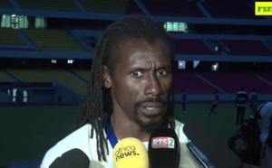 """Aliou Cissé, Coach des Lions : """" Ce match va nous permettre de continuer..."""""""