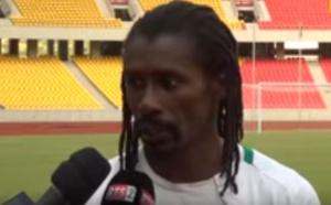 """Aliou CISSE Coach des lions """" on espére une bonne opposition contre le Congo . (vidéo)"""