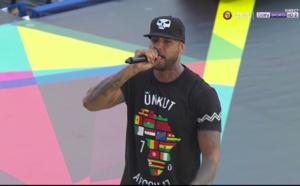 Ouverture CAN 2017 : Booba chante DKR et espère une réconciliation des gabonais !