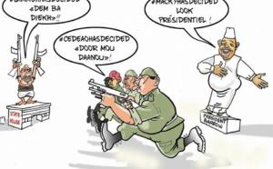 Jammeh Dem ba diekh : Cedeao Door mou daanou......(par Odia)