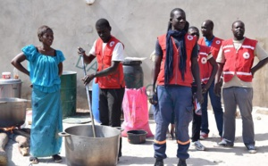 Frontière Sénégal/Gambie : La Croix rouge sénégalaise à la rescousse des réfugiés