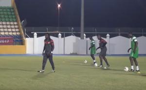 Séance d'entraînement des Lions du Sénégal dans une bonne ambiance