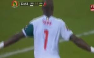 CAN 2017 - Sénégal VS Algérie - But de Moussa Sow