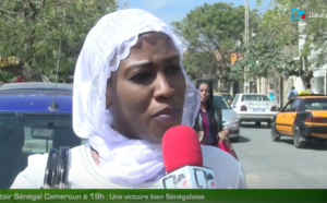 Micro trottoir Sénégal/Cameroun à 19h : Rien que la victoire