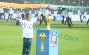 CAN 2017 : Les images de la cérémonie officielle de la Finale