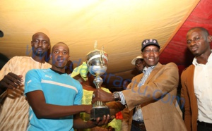 Les images de la finale de football présidée par Mamadou Mamour Diallo à Keur Momar Sarr.