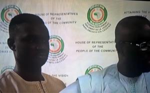 Que faisait le fils de l'honorable député Moustapha Cissé Lo au parlement de la CEDEAO ?