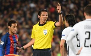 LIGUE DES CHAMPIONS : L'UEFA ne suspendra pas l'arbitre de Barça-PSG