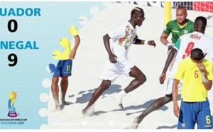Mondial Beach Soccer : Le Sénégal s'impose 9-0 devant l'Equateur