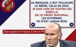Zinédine Zidane appelle à «éviter» le Front national à l'élection présidentielle