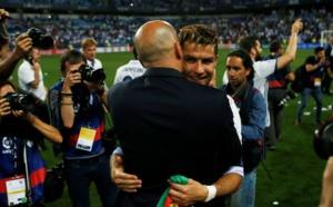 Ronaldo s'enflamme pour Zidane