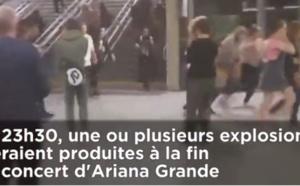 VIDEO. Attentat à Manchester: Les images filmées par les spectateurs