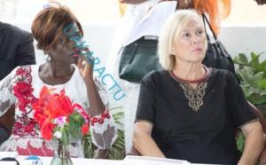 Remise de dons et d'un chèque de 500 000 FCFA à la Maison Rose de Gounass : Thérèse Faye Diouf encore à la rescousse des couches vulnérables