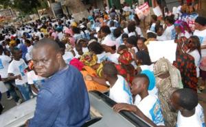 Les images de la mobilisation de El Malick Seck lors du meeting de Benno à Thiès