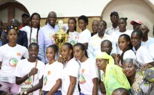 SACRE DE SAINT-LOUIS BASKET CLUB : Les populations déroulent le tapis rouge aux championnes