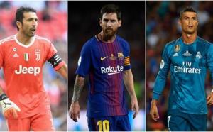 UEFA : Ronaldo, Messi ou Buffon ?