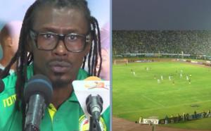 Stade LSS : Aliou Cissé s'inquiète de l'état de la pelouse