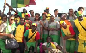De retour de l'Afrobasket : Les Lionnes accueillies à l'aéroport LSS