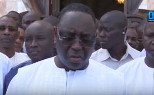 TOUBA - Discours du Président Sall après la prière du vendredi à la Grande mosquée