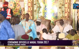 [REPLAY ] Revivez  la cérémonie officielle du Magal Touba 2017