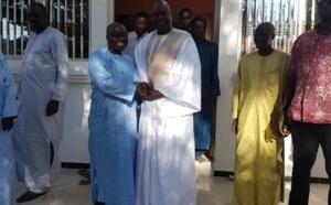 Magal Touba 2017 :  Idrissa Seck chez Serigne Djily Fatah Falilou Mbacke à son domicile de Touba Ndindy