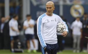 """Real : Zidane annonce un """"tournant"""""""