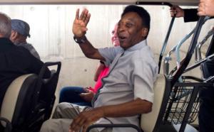 Pelé hospitalisé pour épuisement au Brésil