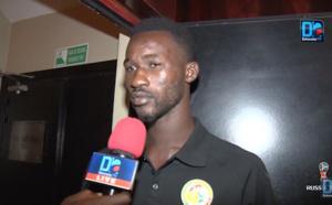 """Pape Seydou Ndiaye : """"Content d'être titulaire contre l'Ouzbékistan, et toujours prêt à saisir ma chance"""""""