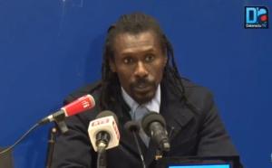 [REPLAY] Revivez la conférence de presse d'après match du coach Aliou Cissé