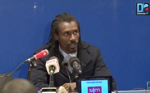 VIDEO : Aliou Cissé sur le duo Mame Biram-Moussa Sow : J'avais besoin de leur donner du temps de jeu… Pour qu'ils aient la chance de faire partie des 23 »