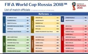 CM 2018 : L'arbitre Malang Diédhiou sélectionné par la FIFA