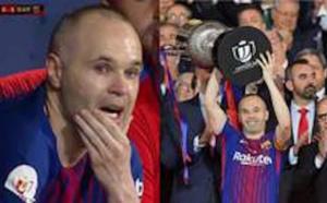 But de génie, ovation, larmes: la dernière finale de légende d'Iniesta