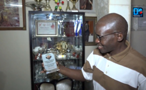 Abdoulaye Diaw ouvre sa vitrine de distinctions