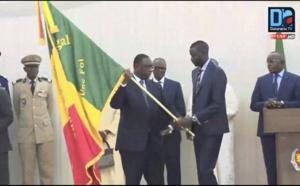 [REPLAY-CM 2018] Revivez la cérémonie de remise du drapeau à l'équipe nationale de Football
